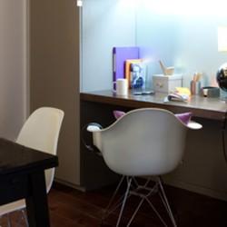Elastic Paris Architecte d'intérieur Pied-à-terre Turenne bureau fauteuil