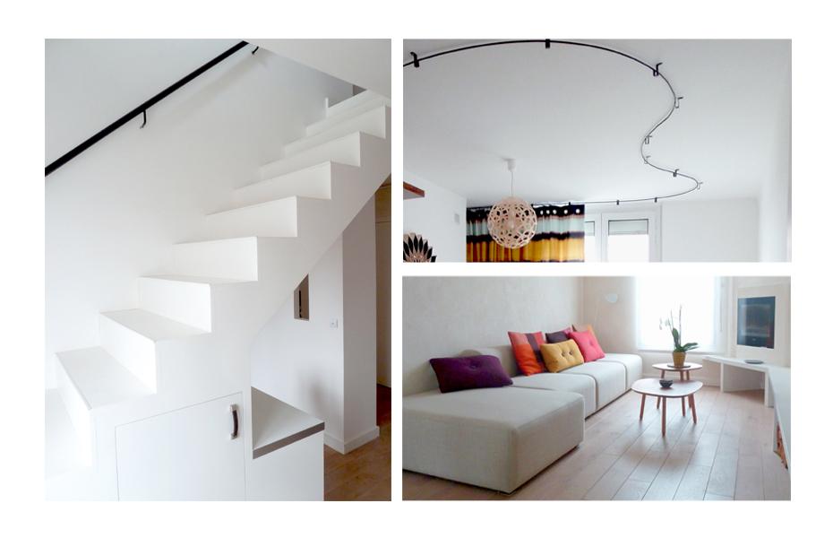 Projet Duplex Serurier Elastic Paris Architecte d'intérieur