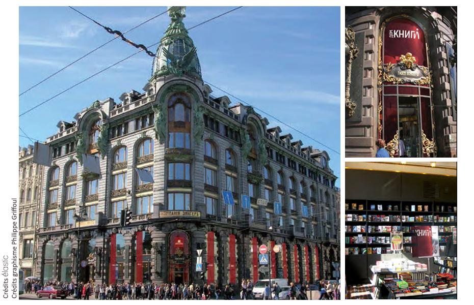 Elastic Paris Architecte d'intérieur Librairie Dom Knygi