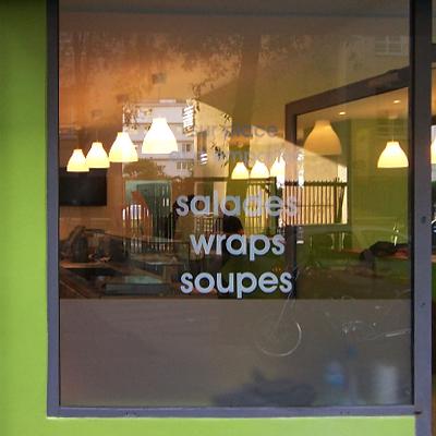 Elastic Paris Architecte d'intérieur Green is Better Food snack restaurant
