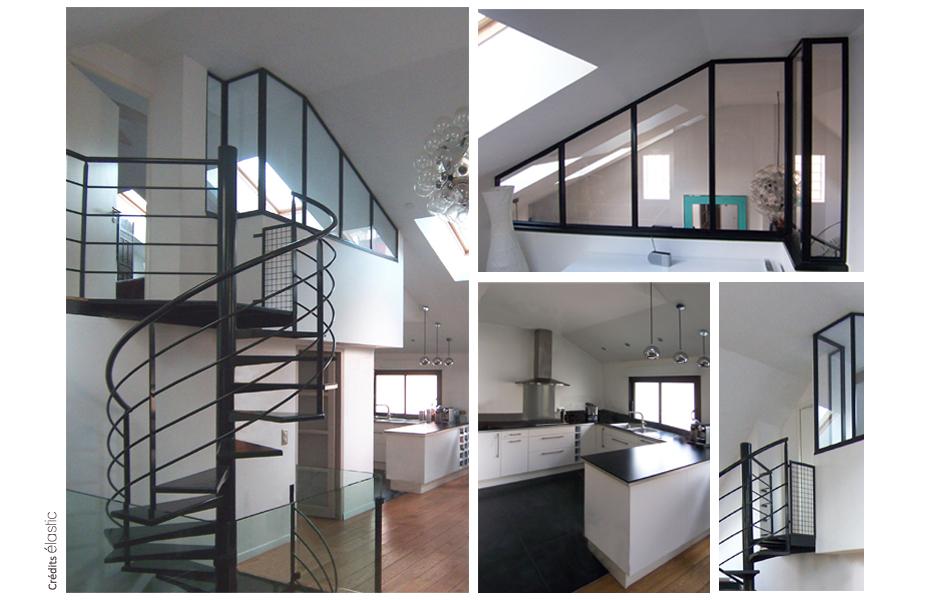 Elastic Paris Architecte d'intérieur Loft Les Lilas