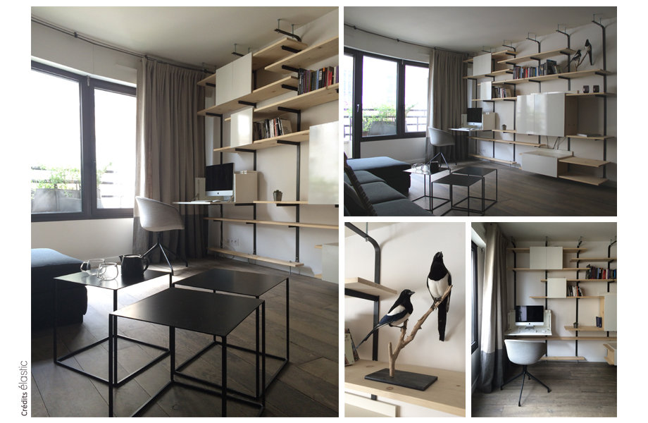 Projet Sedaine Elastic Paris Architecte d'intérieur