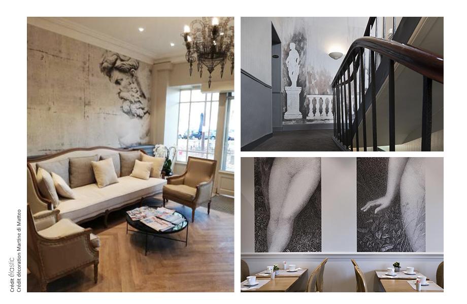 Elastic Paris Architecte d'intérieur Hotel des Roys
