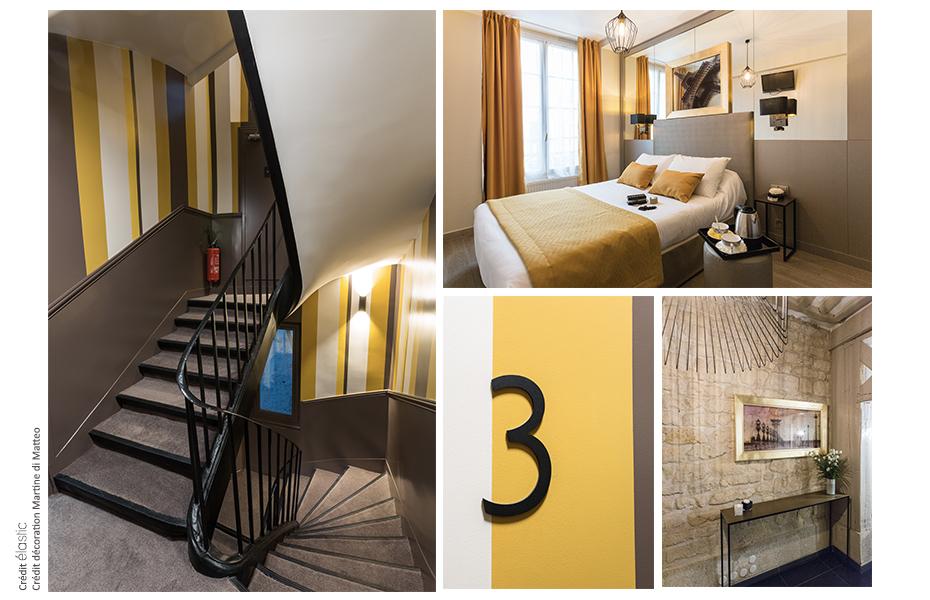 Elastic Paris Architecte d'intérieur Hotel Pratic