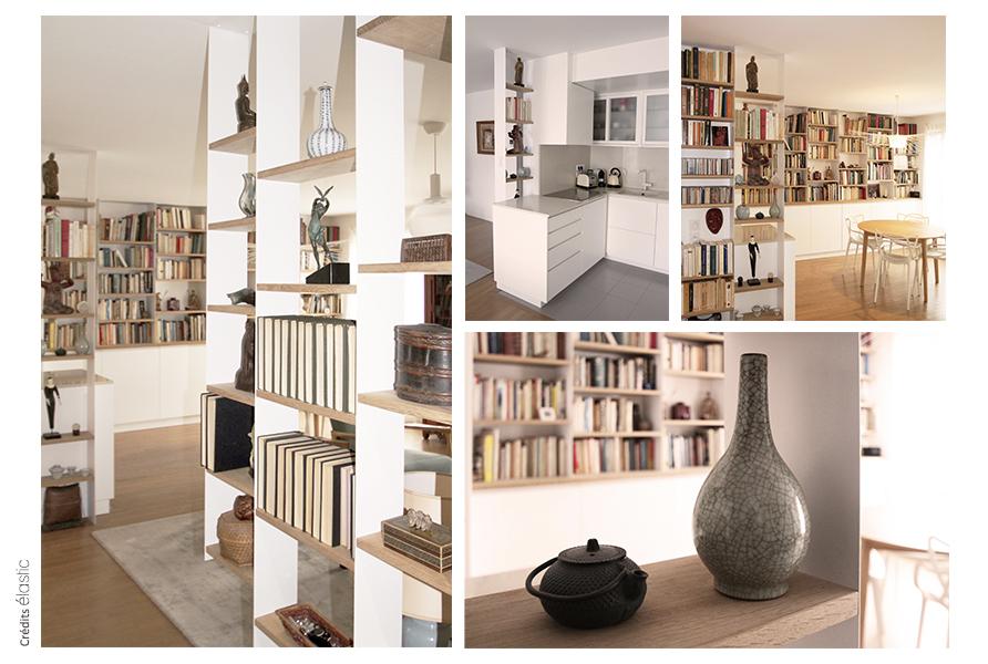 Elastic Paris Architecte d'intérieur Villa Brune