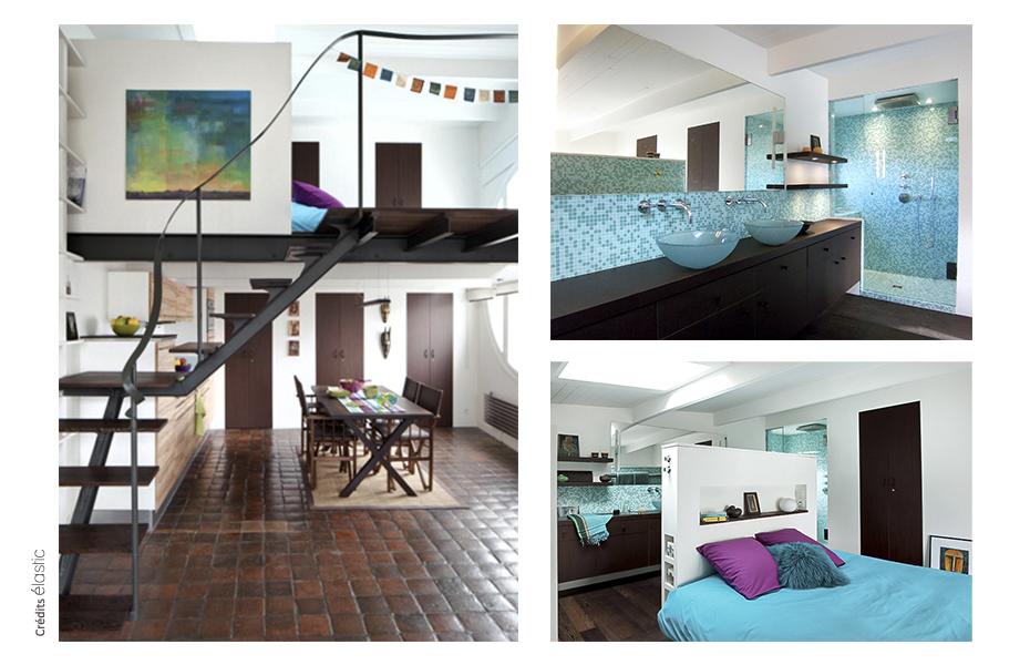 Elastic Paris Architecte d'intérieur Duplex Quincampoix